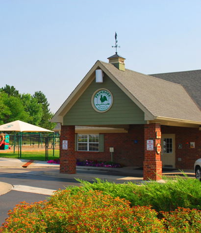 Parker Primrose school building front view