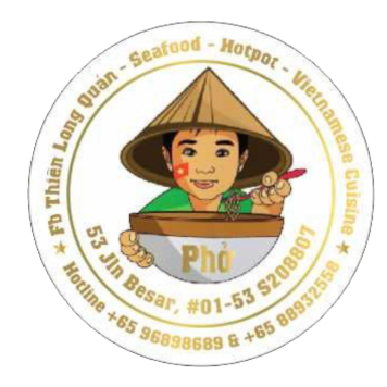 Logo - Thiên Long Vietnamese Food Singapore
