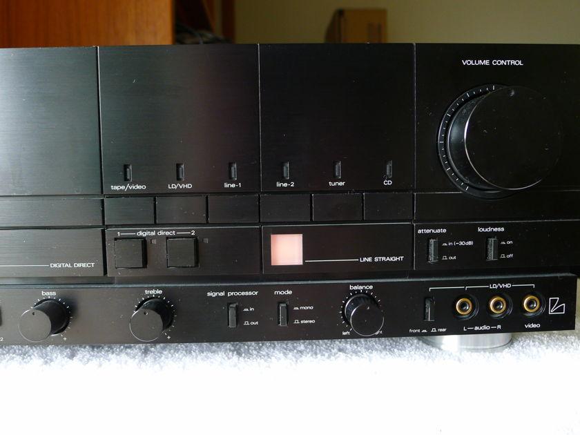 LUXMAN  LV 109 VERY VERY POWERFUL INT. AMP.