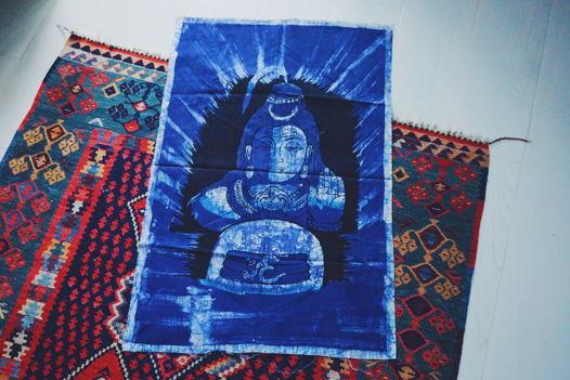 Панно с изображением Шивы