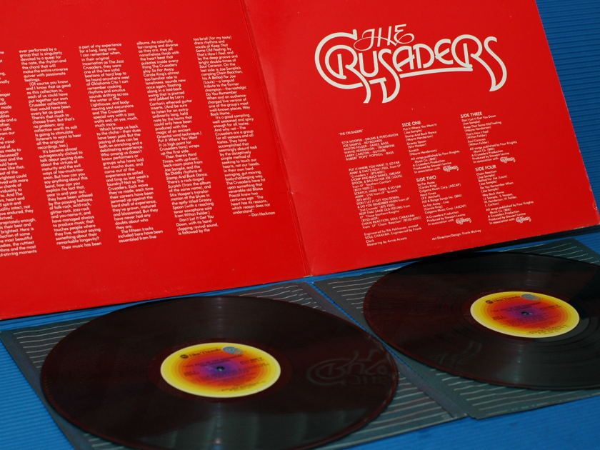 """THE CRUSADERS  - """"The Best of"""" - Blue Thumb  1976  2 lp's"""
