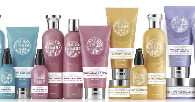 madam c j walker product line and legacy