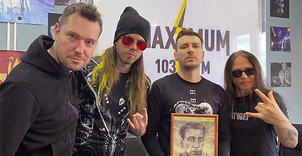 Петер Тэгтгрен в студии Радио MAXIMUM - Новости радио OnAir.ru