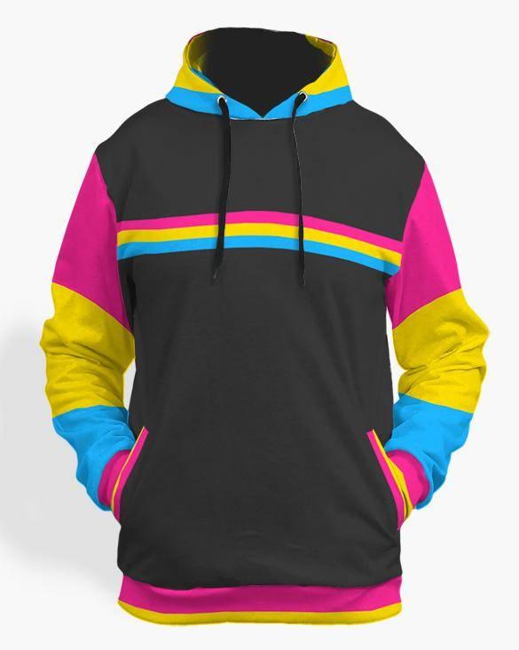 pansexual pride hoodie