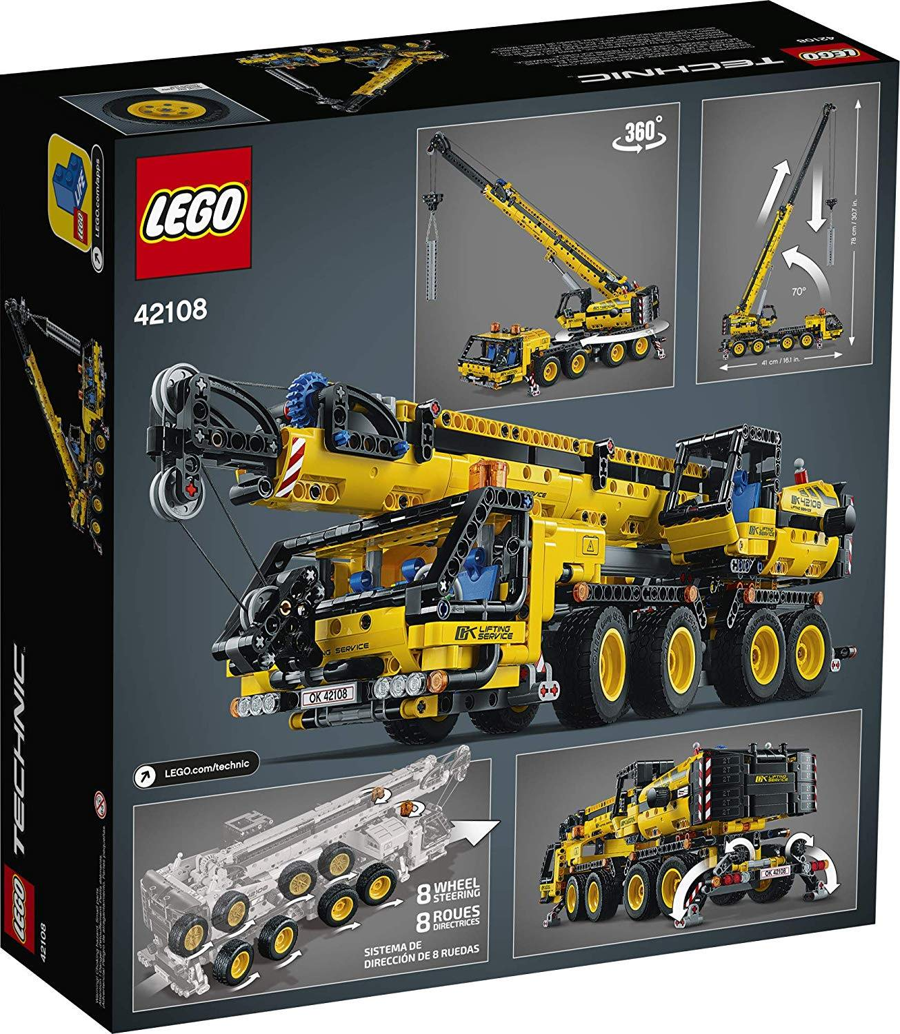 lego 42108 features