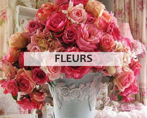 Broderie diamant collection fleurs
