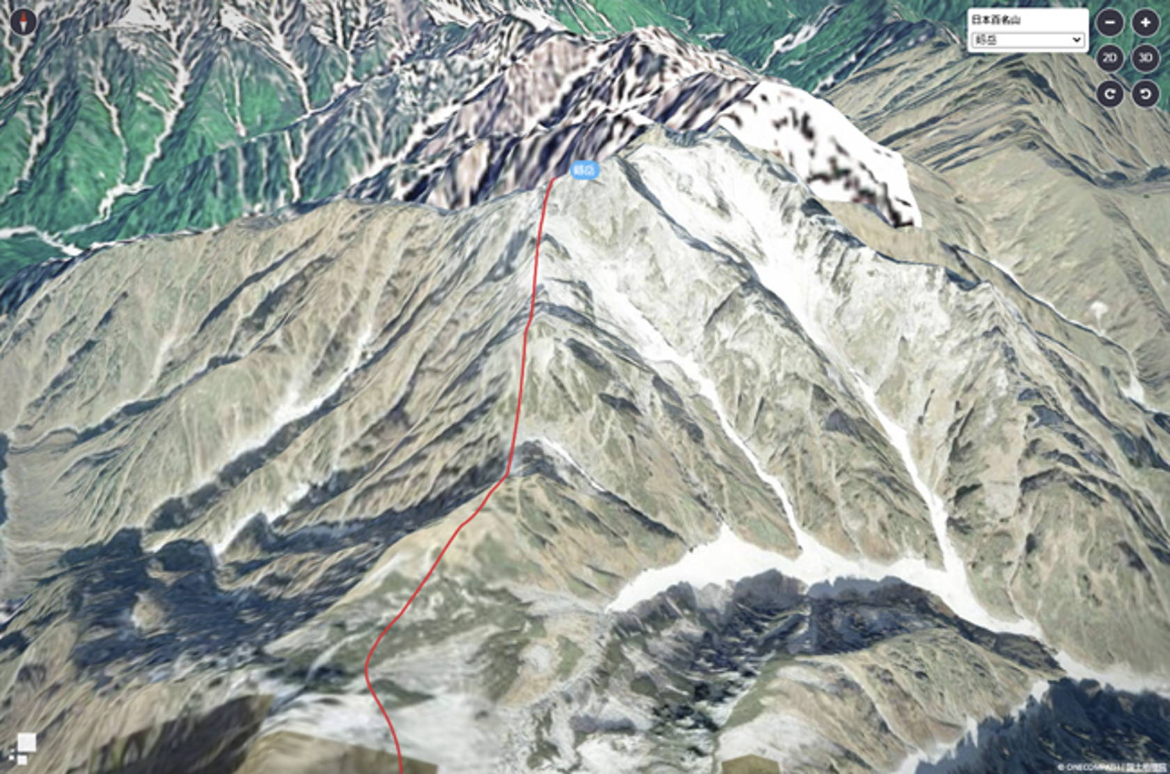 ONE COMPATH、日本百名山をリアルに表現した「3Dマップ」と境界線を分かりやすく表現した「境界線マップ」をマピオンテックラボで公開