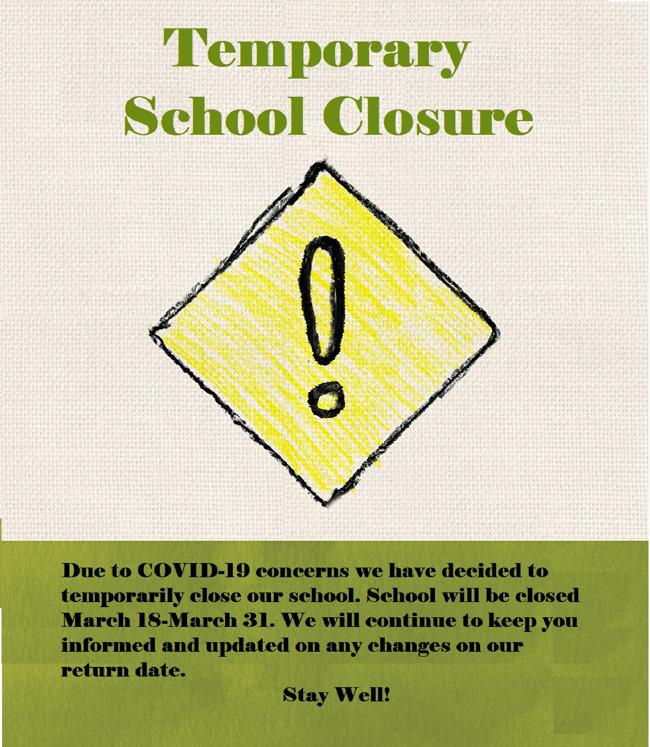 Temporary School Closure
