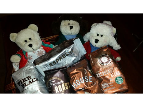 Starbucks Sampler and Barista Bears too!