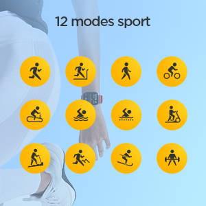 Amazfit GTS - 12 modes sportifs