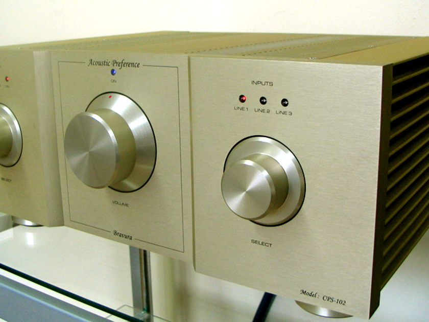 Acoustic Preference Bravura CPS 102 Integrated amplifier