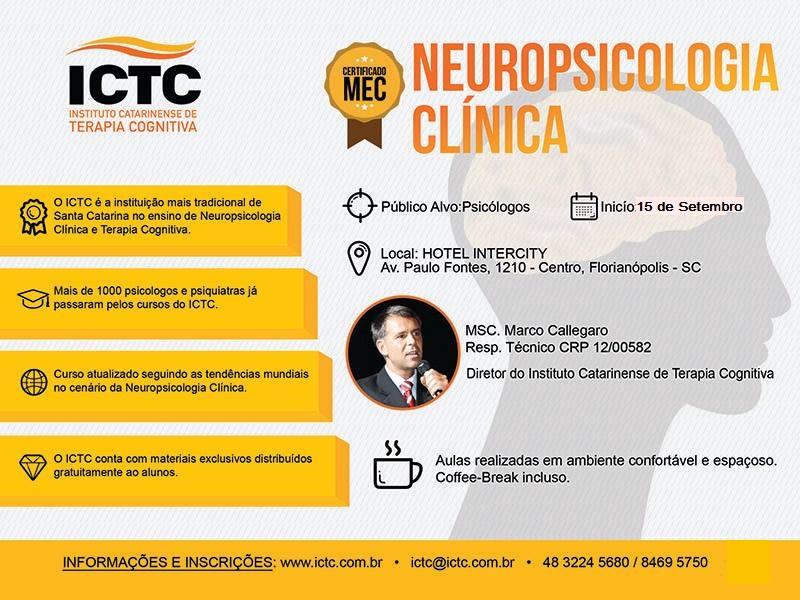 Curso de Especialização em Neuropsicologia Clínica ICTC