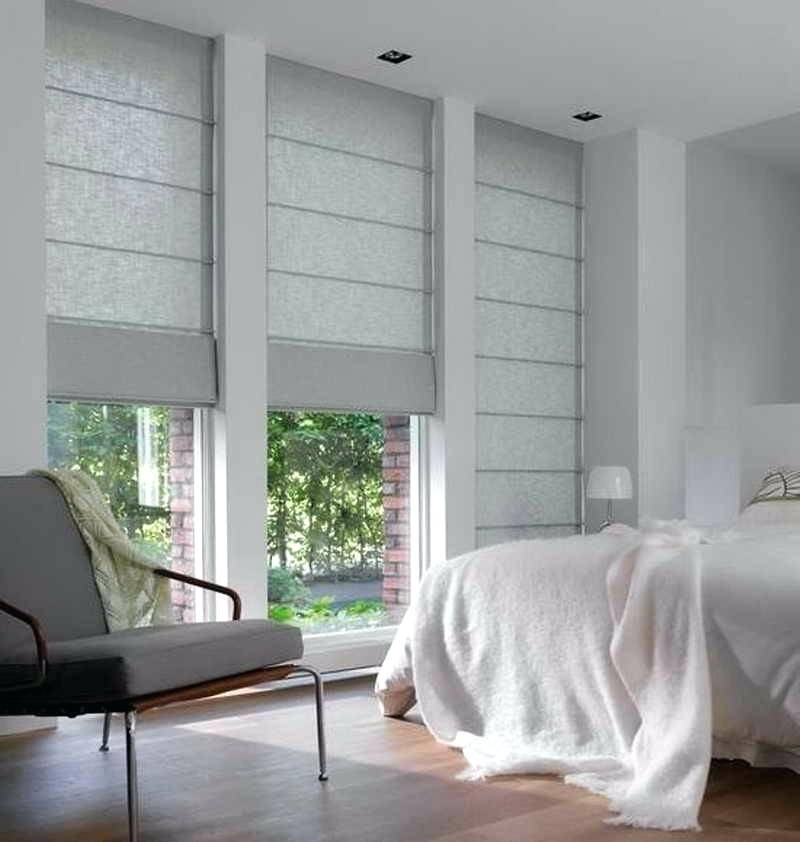 Roman Blinds for the Bedroom - Modern Home