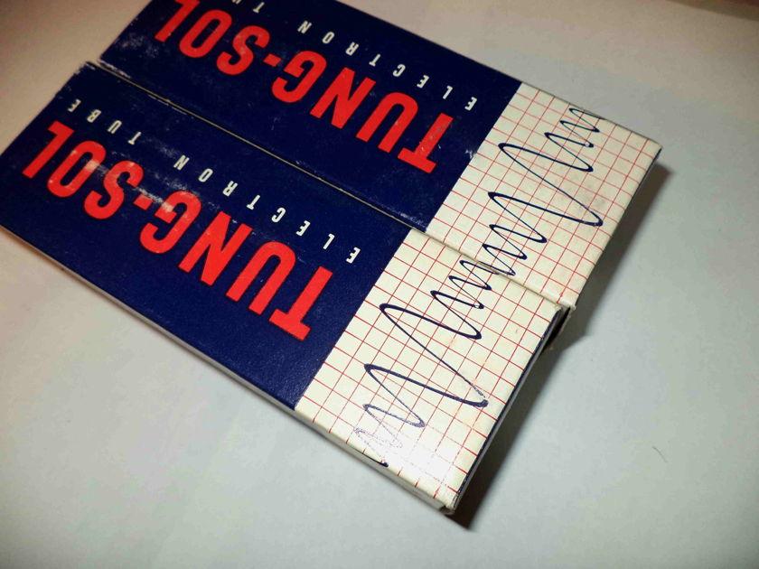 TUNG-SOL matched pair, 6550 tubes  NOS , NIB , RARE, MADE IN USA