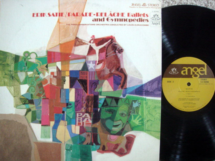 EMI Angel / AURIACOMBE, - Satie Gymnopedies, Parade, MINT!