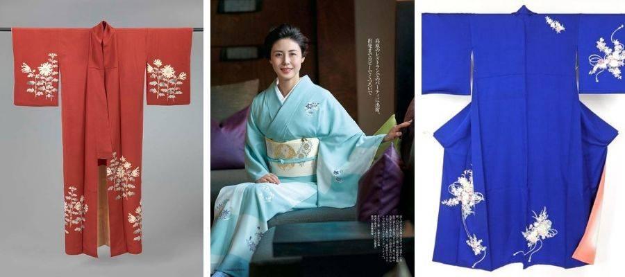 Tsukesage (付け下げ) Kimono
