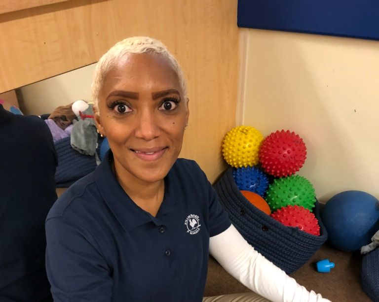 Ms. Wynisha Evans , Associate Young Toddler Teacher