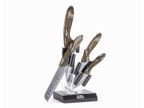 5-Piece Ceramic Blade Cutlery Set
