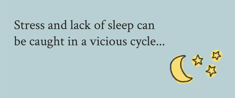 Stress lack of sleep tips Davines