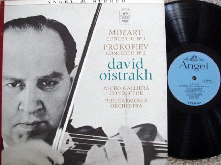 EMI Angel Blue / OISTRAKH, - Mozart Violin Concerto No.3, MINT!