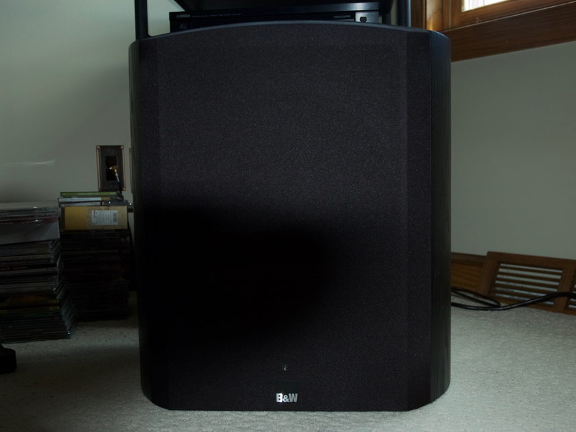 B&W Bowers and Wilkins ASW 825 Sub Woofer in Black Ash
