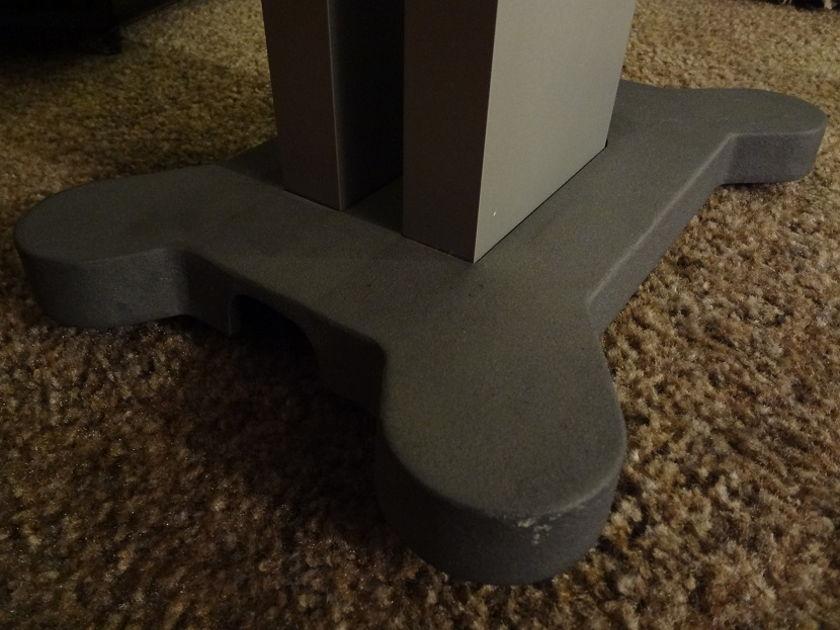 Klipsch Palladium P-17b Natural stain w/ stands