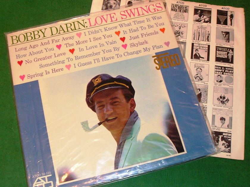 BOBBY DARIN - LOVE SWINGS -  - 1961 ATCO YELLOW LABEL - 1st PRESS ** NM 9/10 **