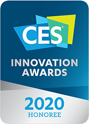 A badge of CES Innovation Awards 2020