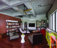 seven-design-and-build-sdn-bhd-industrial-modern-malaysia-selangor-family-room-study-room-3d-drawing