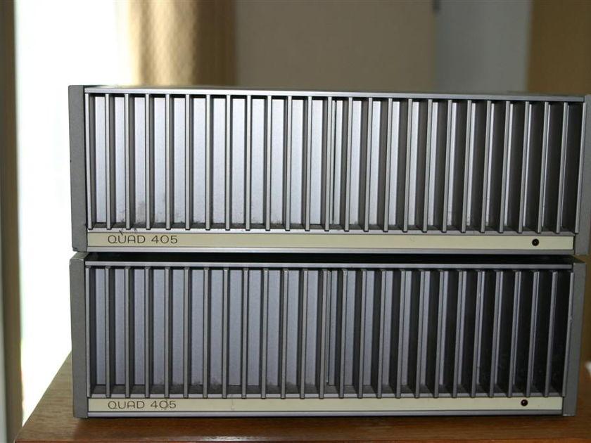 Quad 405 Macmod Monoblocks Steve McCormack/Mod Squad Freshly Reconditioned - sound great!