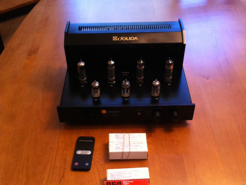 Jolida JD 102CRC includes extra NOS tubes