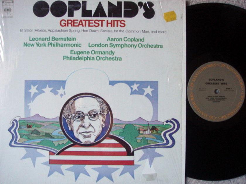 Columbia Odyssey / BERNSTEIN-ORMANDY, - Copland Geatest Hits, NM!