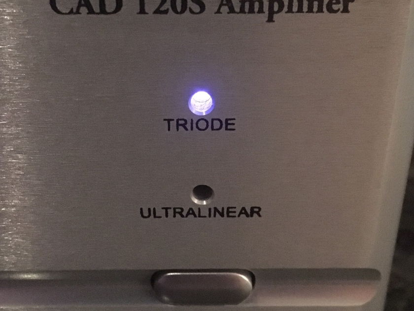Cary Audio Design CAD-120s Stereo Power Amplifier