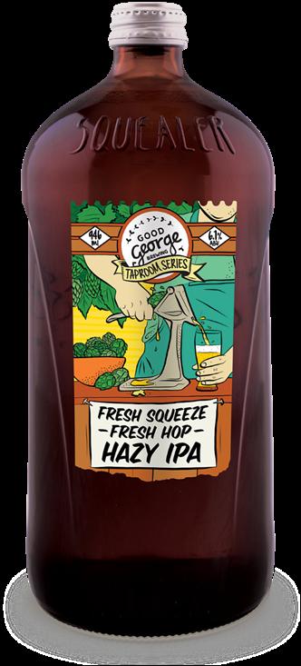 Good George Fresh Squeeze Fresh Hop Hazy IPA