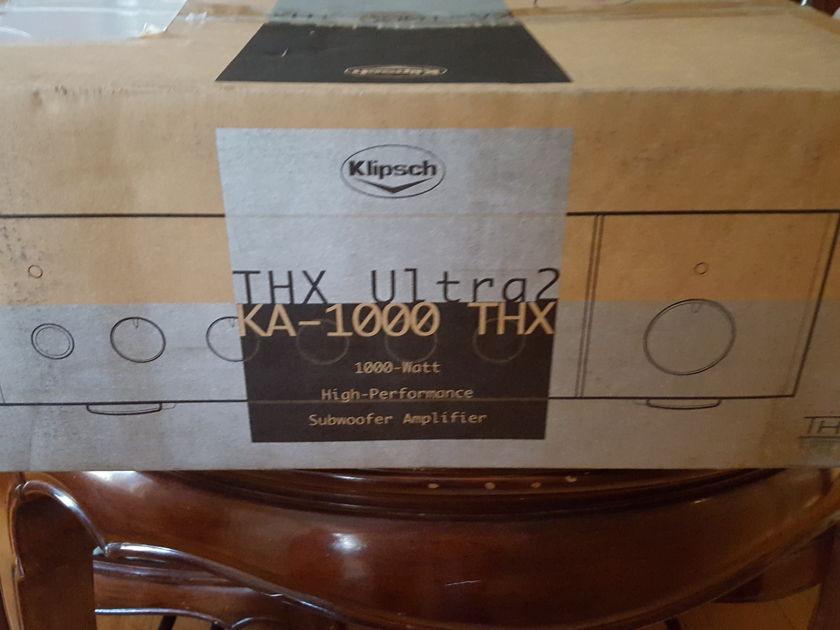 Klipsch KA-1000 thx 1000 Subwoofer amp