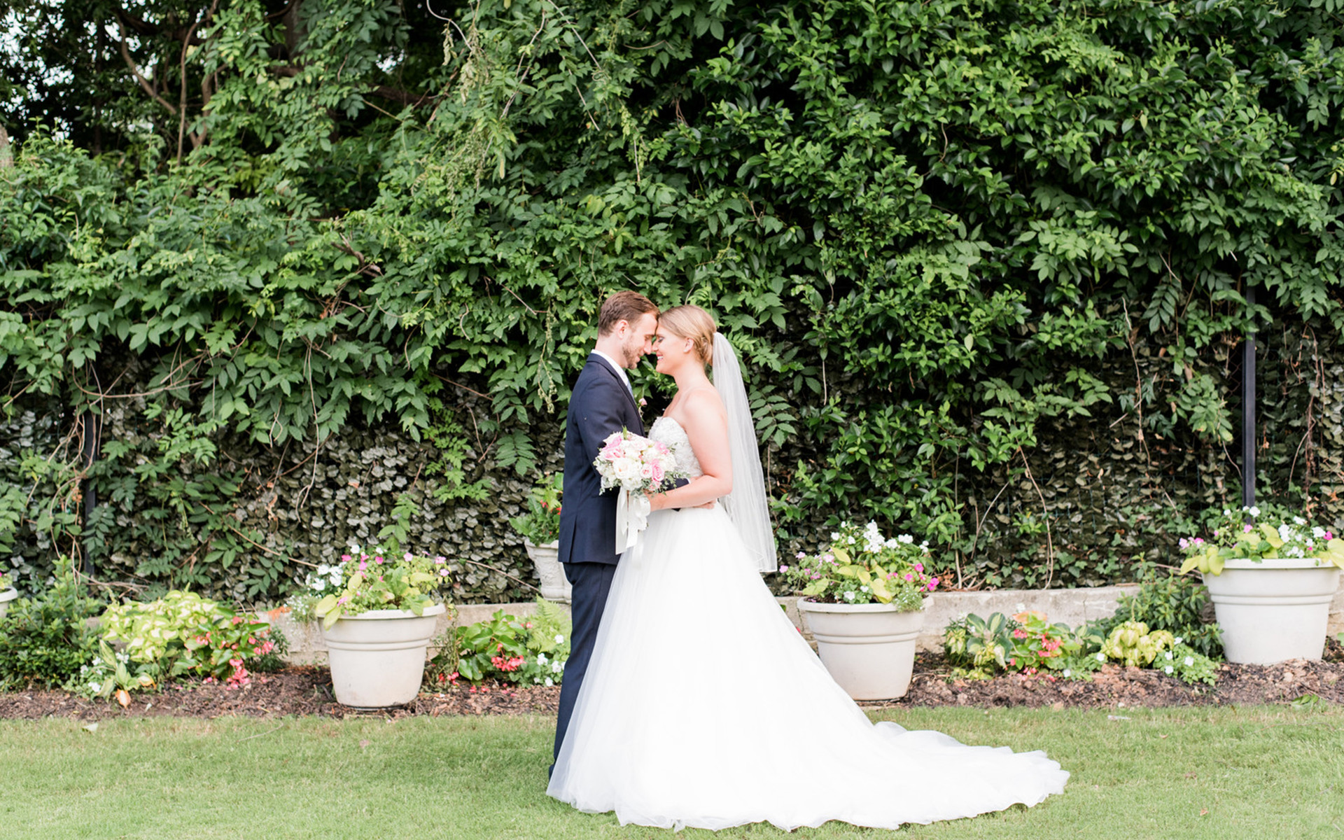 A Summer Garden Ceremony and Dancing-Filled Reception