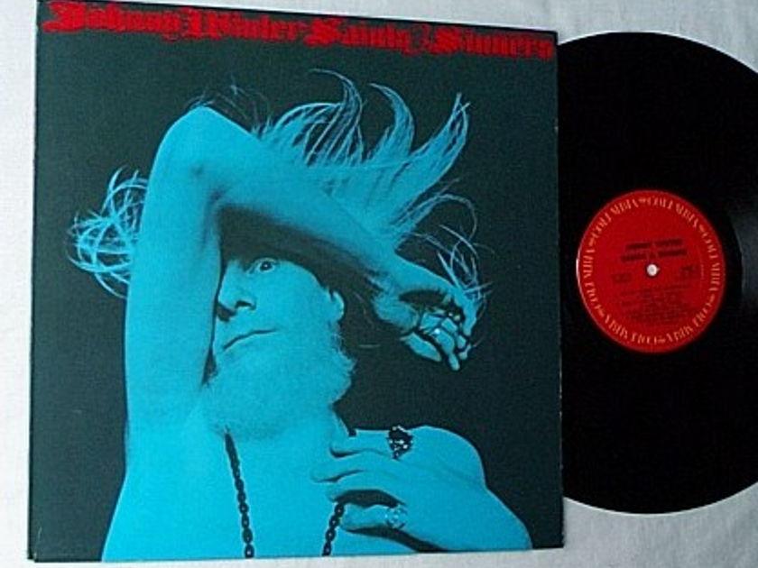 Johnny Winter LP-Saints & Sinners- - orig 1974 columbia album-superb texan blues music
