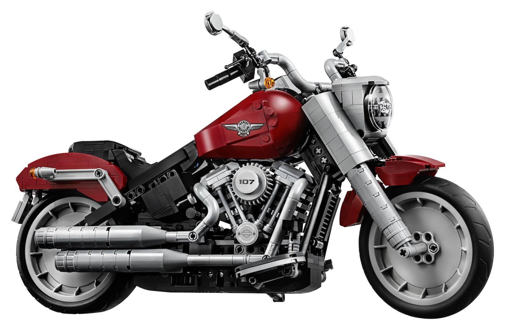 LEGO Harley Davidson Fat Boy 10269