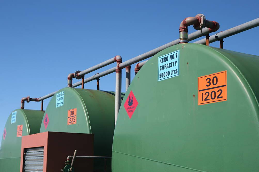 Kerosene Oil tank