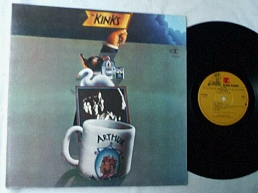 KINKS - ARTHUR   - - MEGA RARE LP SIGNED BY RAY DAVIES - UNIQUE IN THE WORLD
