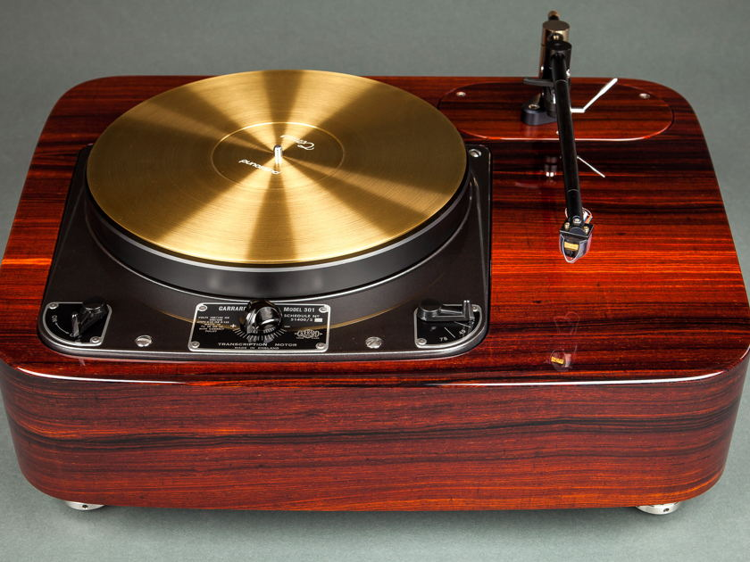 Garrard 301 in Cocobolo by Woodsong Audio