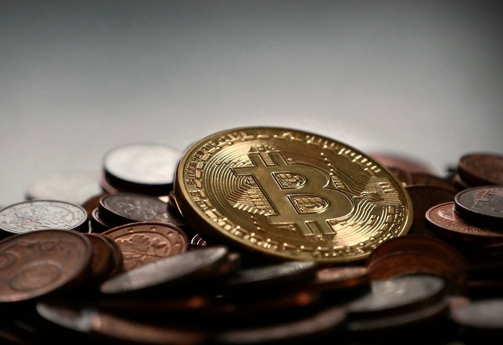 image of stacks of bitcoin (BTC) coins