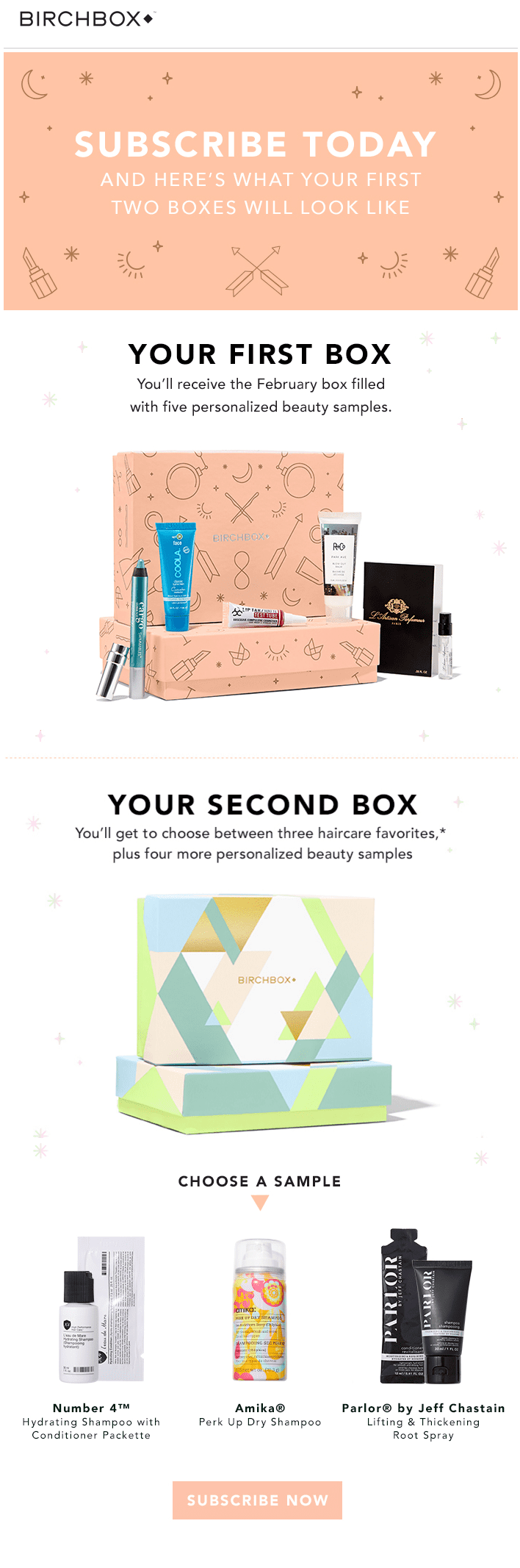 Birchbox click-through rate vs click-to-open rate