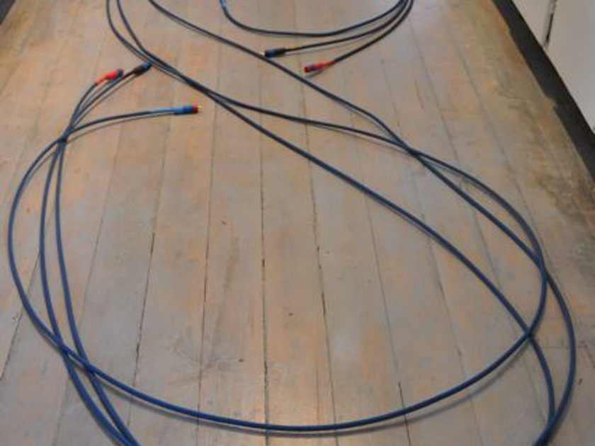 Signal Cable cables Analog Two / Analog Mini 3 fifteen foot RCA interconnects / 2ft Mini