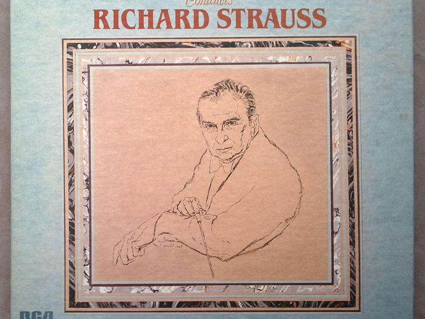 RCA Digital/Reiner/R. Strauss - A Hero's Life, Don Quixote, Also sprach Zarathustra, Burlesque, ... 4-LP / NM