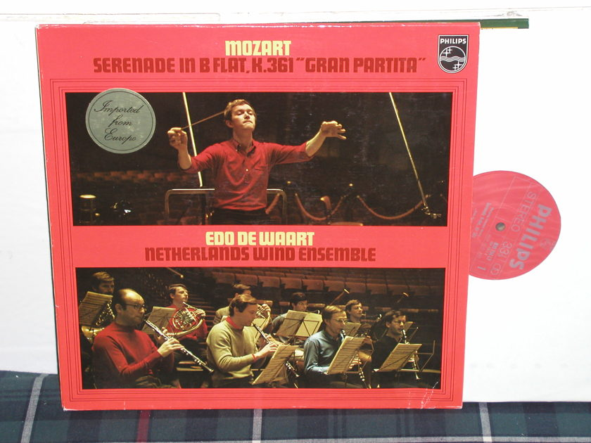 Dewaart/Netherlands Wind Ensemble - Mozart Serenade in B Philips import pressing ly 839