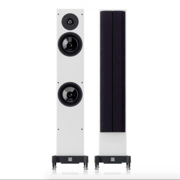 Mozart Grand SE Speakers; Piano White Pair (New)