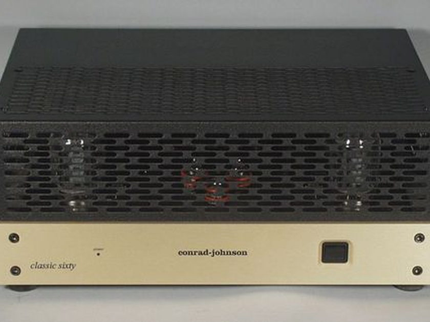 "Conrad Johnson Classic Sixty SE ""Class A Recommended"" Vacuum-Tube Power Amplifier"