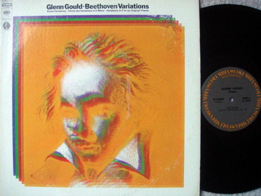 Columbia / GLENN GOULD, - Beethoven Variations, MINT!
