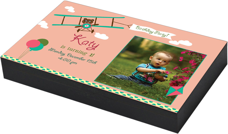 Birthday Invitation Gift Box Designs – CHOCOCRAFT